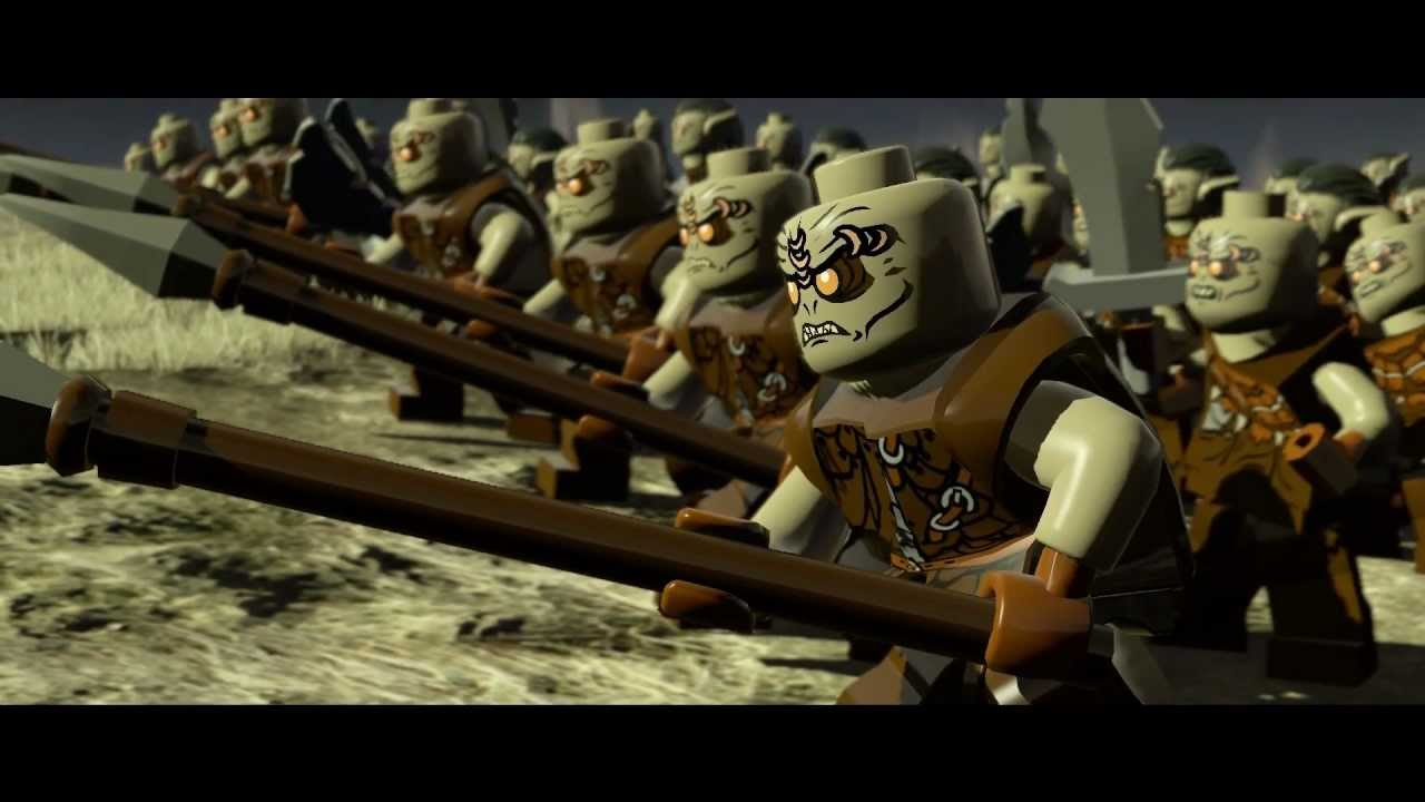 Lego Lord Of The Rings Youtube Gameplay