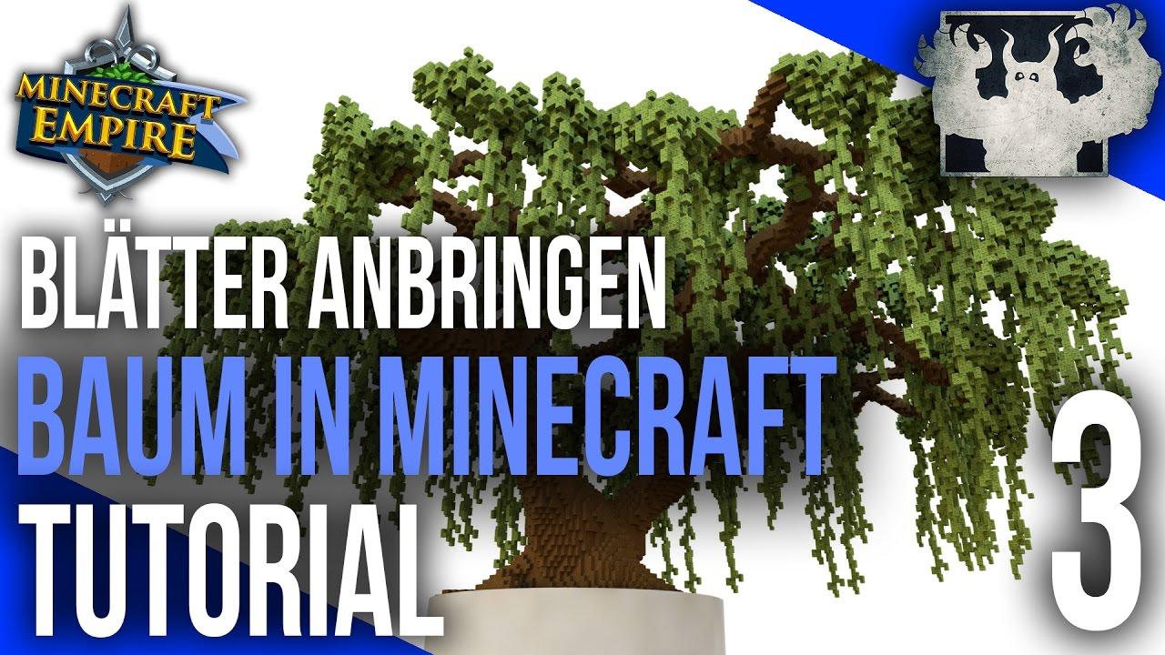Minecraft Empire Spawn Baum Tutorial BLÄTTER YouTube - Minecraft hauser verschonern