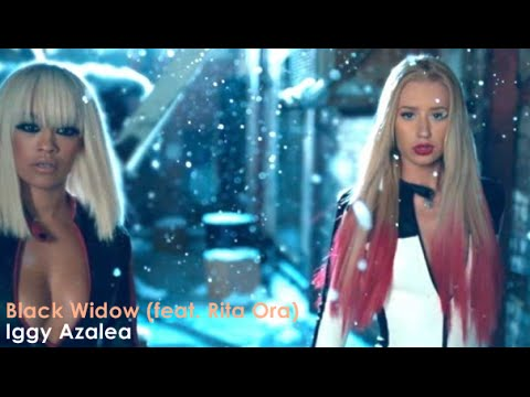 Iggy Azalea - Black Widow Ft. Rita Ora  [Lyrics + Sub Español]