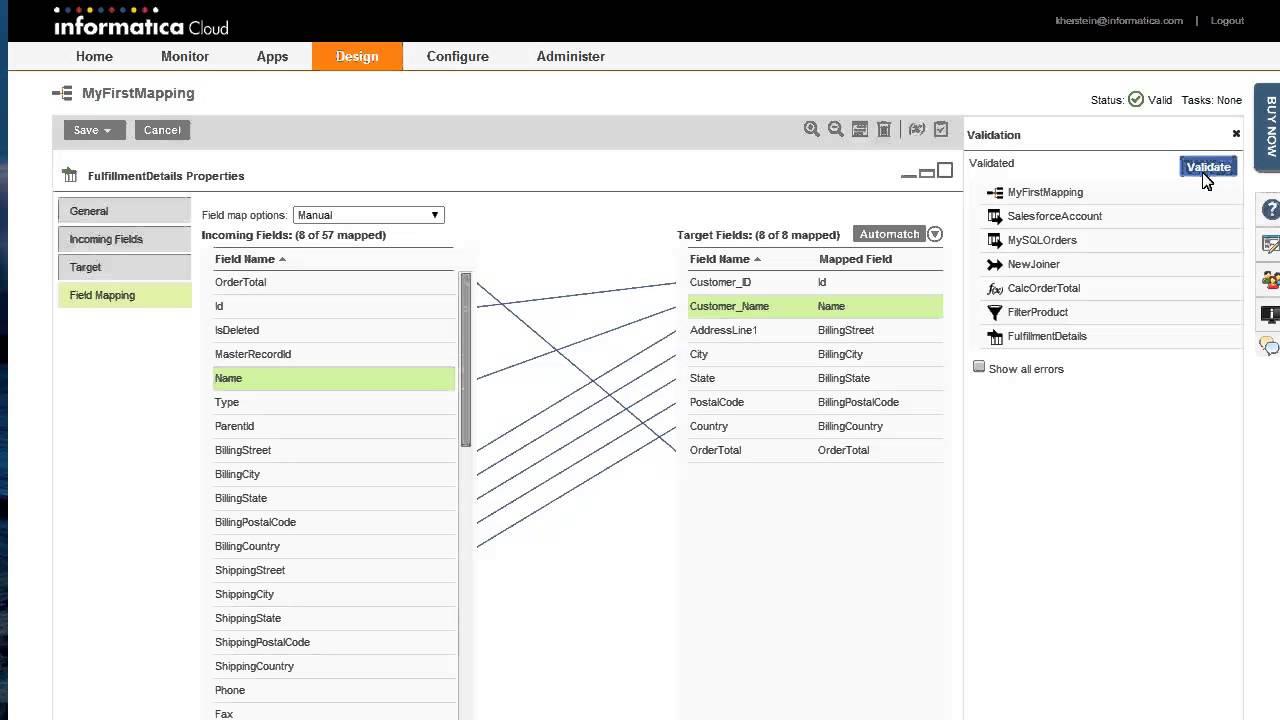 Getting Started with the Informatica Cloud Mapping Designer on marketing designer, building designer, gaming designer, engineering designer, tool designer, electrical designer, presentation designer, audio designer, database designer,