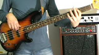 The Rolling Stones - Ruby Tuesday - Bass Cover