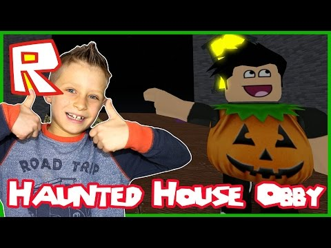 The Haunted House Obby / Halloween Ghosts / Roblox