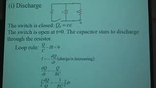 普通物理2 第5堂 RC Circuit& Direct current Instruments