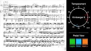 "Download lagu Beethoven: Sonata No. 21 ""Waldstein"" (Kirnberger II Temperament + New Pedals)"