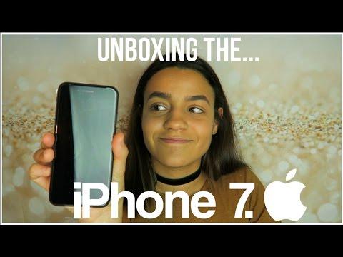 iPhone 7 Unboxing + Moving To The New Handset   2017   Phoebe Soremekun