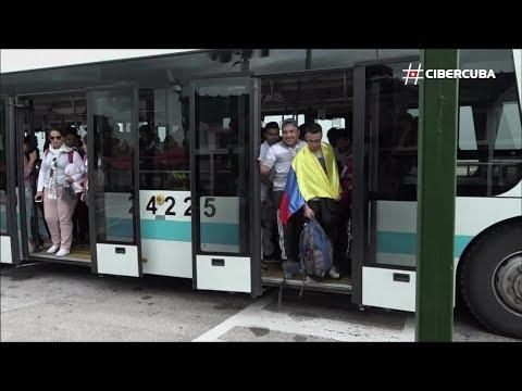 Cuba recibe a los primeros becarios colombianos de las FARC