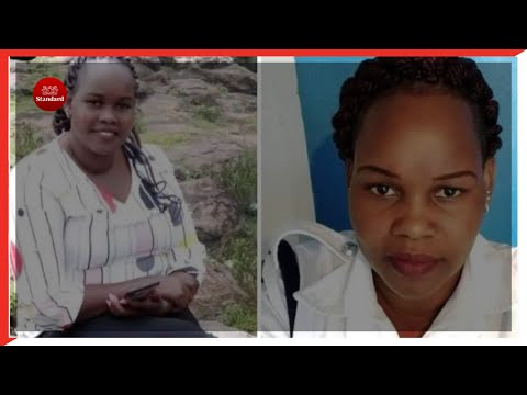 Caroline Kangogo parents fulfill her dying wish, burry her in a wedding gown
