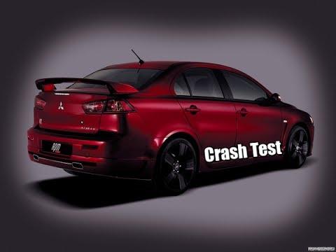 ✦✦✦ Crash Test   Mitsubishi Lancer X ✦✦✦