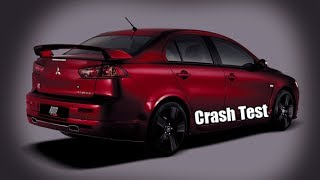 ✦✦✦ Crash Test - Mitsubishi Lancer X ✦✦✦
