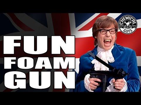How To: Super Fun Car Wash Foam Gun - TORQ Foam Blaster - Chemical Guys