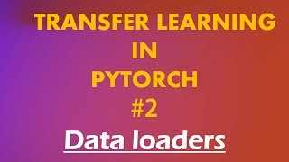 Python Pytorch Tutorials # 2 Transfer Learning : Pytorch