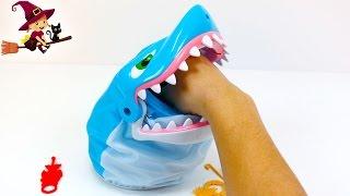 Juegos Infantiles Sobre Mesa  Pescar al Tiburon