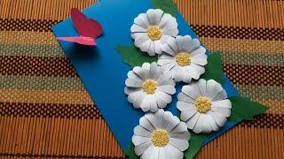 Ромашки из бумаги своими руками - 3 способа!(Как сделать ромашки из бумаги для праздничной открытки? Подробный мастер-класс здесь http://natalisokolova.ru/kak-sdelat-roma..., 2016-03-04T05:14:41.000Z)