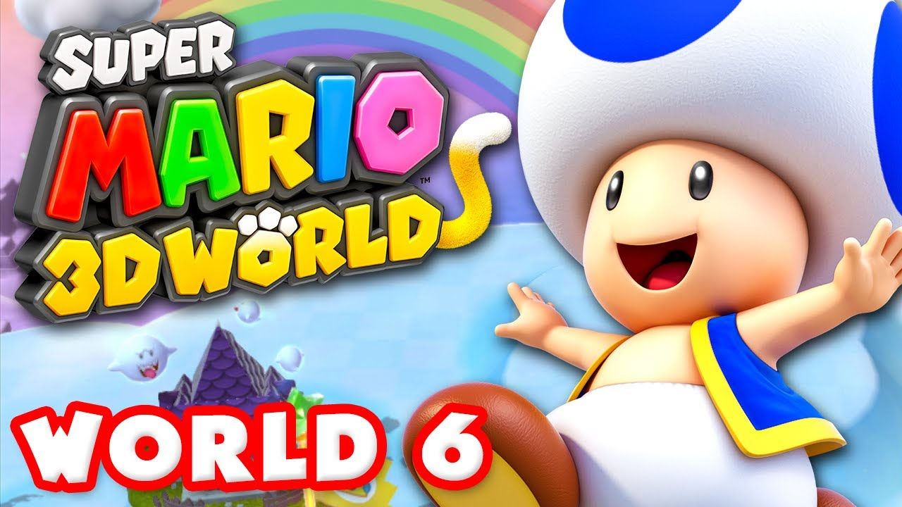 Super Mario 3d World Stamps