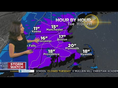 WBZ Mid-Morning Forecast For March 13