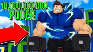 CONSEGUI 10.000.000 DE PODER E FIQUEI INVENCÍVEL !! - ROBLOX