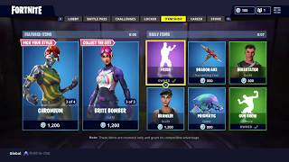 Fortnite Daily item shop May 12 2018 ABSTRAKT NEW SKIN!!!!