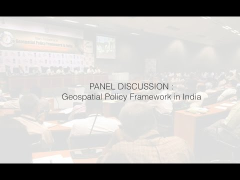 Geospatial Policy Framework in India