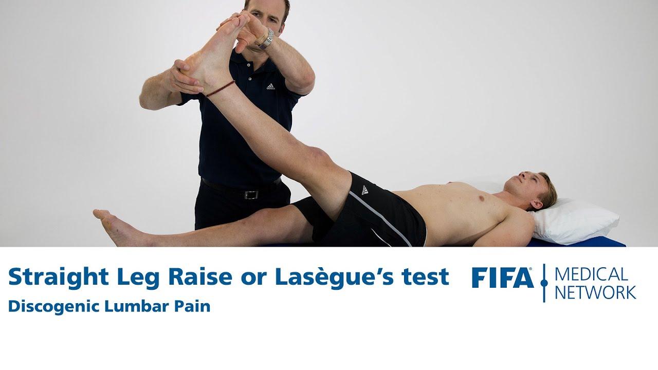 Straight Leg Raise or Lasègues test | Discogenic Lumbar