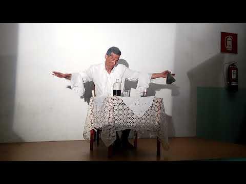 Il canto del cigno di Anton Cechov (interpretato da Gianni Bellino)