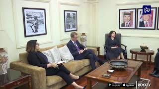 وزير الخارجية يلتقي وكيلة الأمين العام للأمم المتحدة للشؤون السياسية وبناء السلام (8/10/2019)