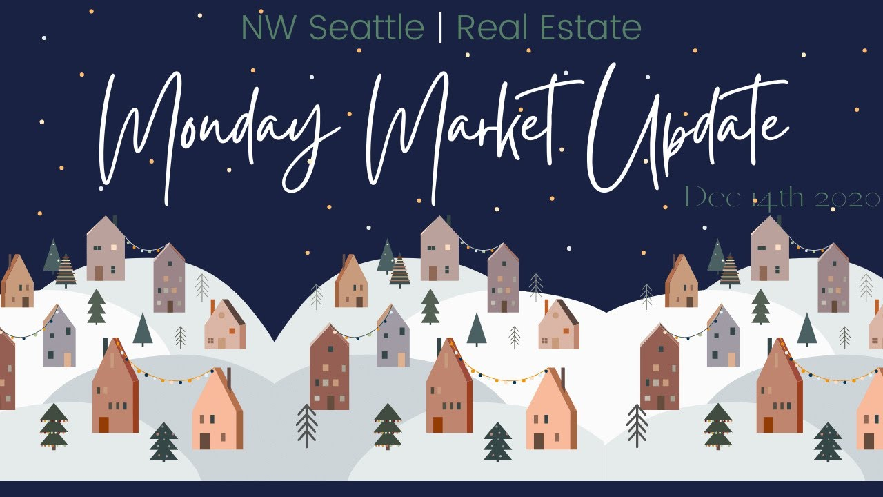 Monday NW Seattle Real Estate Market Update | December 14th, 2020