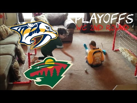 NHL PLAYOFFS - WILD/PREDATORS - LOW FAMILY PRODUCTIONS