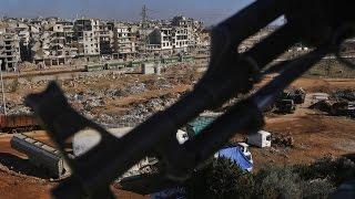 أخبار عربية - مغادرة أكثر من 3 آلاف مقاتل من المعارضة السورية من حلب