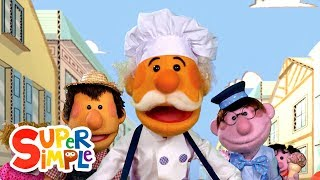 Download The Muffin Man | Kids Songs | Super Simple Songs Mp3 and Videos