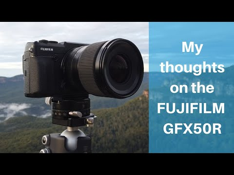 My thoughts on the Fujifilm GFX50R for Landscape Photography