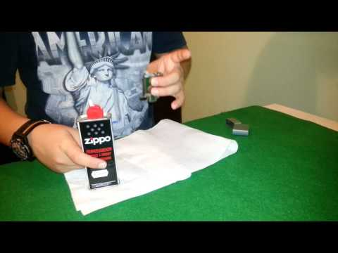 Come Ricaricare Lo Zippo - How To Recharge Zippo