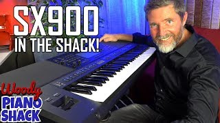YAMAHA PSR SX900 IS HERE! Unboxing and demo