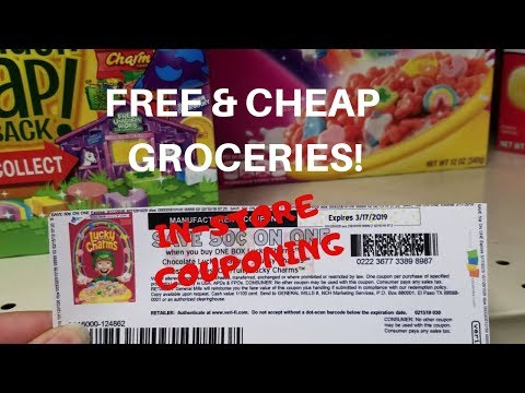 HOW TO GET FREE & CHEAP GROCERIES USING COUPONS!!! CVS & GIANT COUPONING