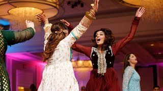 2018 Best Mehndi Dance Performance by Bride friends!