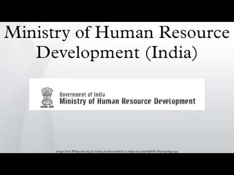Ministry of Human Resource Development (India)