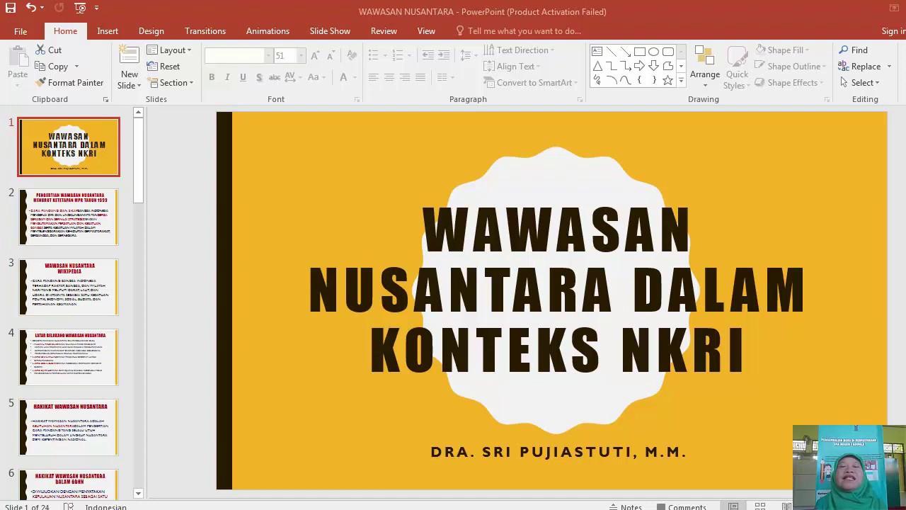 Kelas X Bab Vii Wawasan Nusantara Dalam Konteks Negara Kesatuan Republik Indonesia Youtube