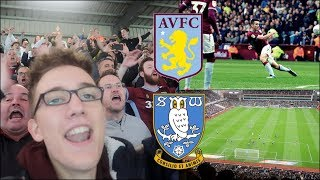 ASTON VILLA 1-2 SHEFFIELD WEDNESDAY | 22/9/18 | JOHN MCGINN SCREAMER