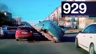 Car crash compilation 929 - october 2017