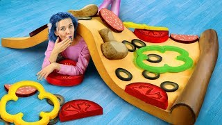 DIY Worlds Largest Squishy / Giant Squishy Food