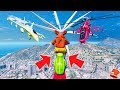 FOXY'S HARDEST DEATHRUN EVER! (GTA 5 Mods For Kids FNAF Funny Moments) RedHatter
