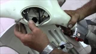 VBB Vespa Steering lock replacement