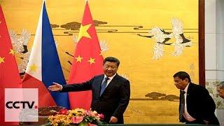 president xi jinping meets phillipine president in beijing