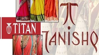 titan to sell saris under tanishq brand