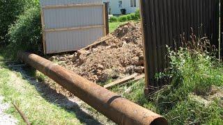 видео что можно положить в канаву под мостик если не трубы