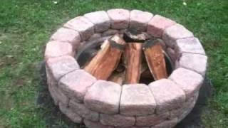 How To Build A Backyard Stone Firepit Diy