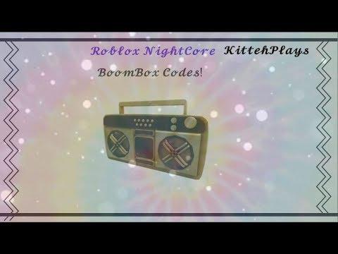 Roblox Boomboc Codes B O O M B O X N I G H T C O R E C O D E S Youtube