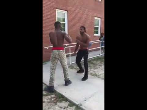 Man get beat up by NcClubking for stealing pt2 Houston Moore fight 2018