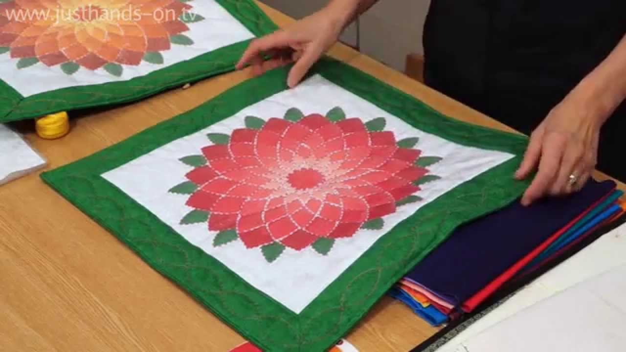 Shadow quilting with The Stitch Witch (taster video)