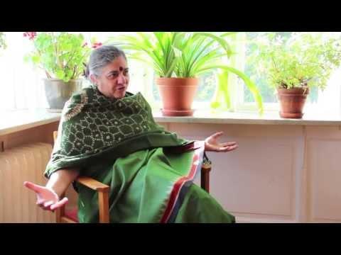 Interview Dr Vandana Shiva - Living Soil Forum 2013