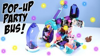 The LEGO Movie 2 Pop-Up Party Bus Set Build Review 70828